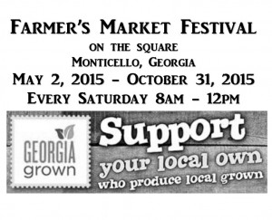 Farmer's Market Festival @ On The Square | Monticello | Georgia | United States