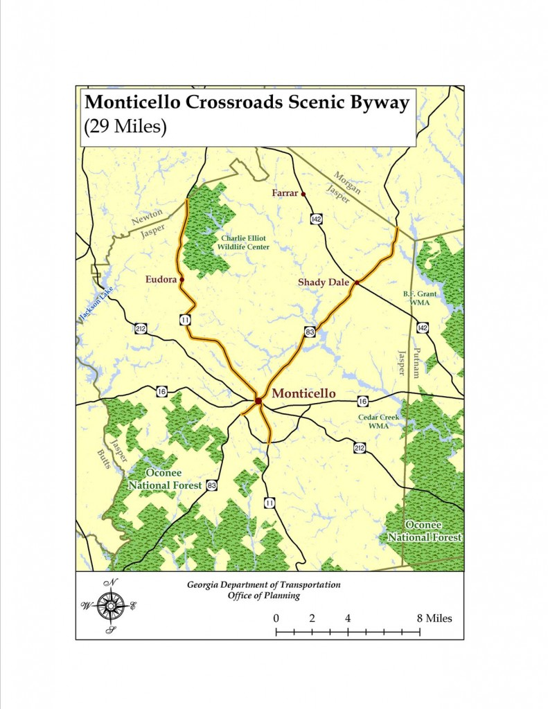 Scenice Byway Map