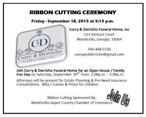 Curry & Derricho Ribbon Cutting